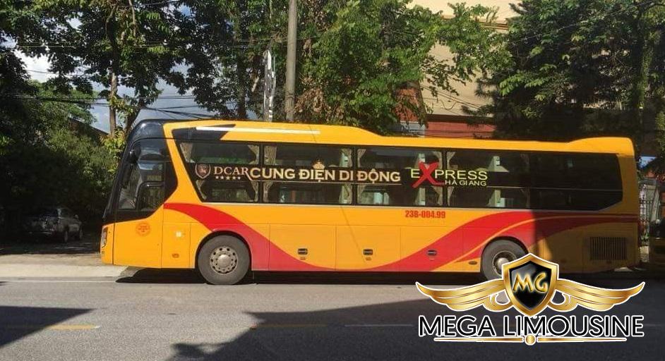 Xe limousine đi Hà Giang - Xe giường phòng