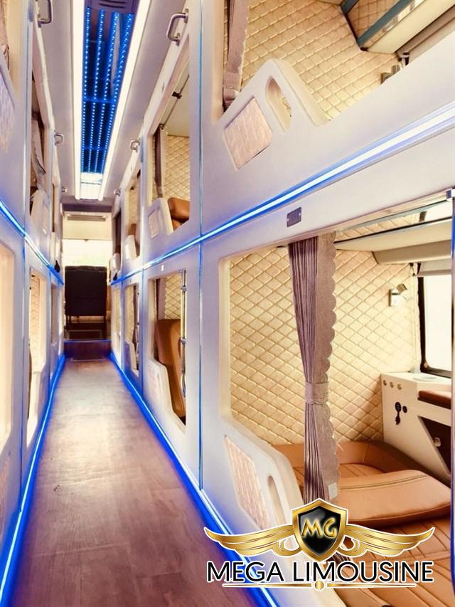Ngọc Ánh là cái tên khá thân thuộc đối với hành khách trên tuyến Rạch Giá – Sài Gòn, thiết kế 20 giường nằm hiện đại