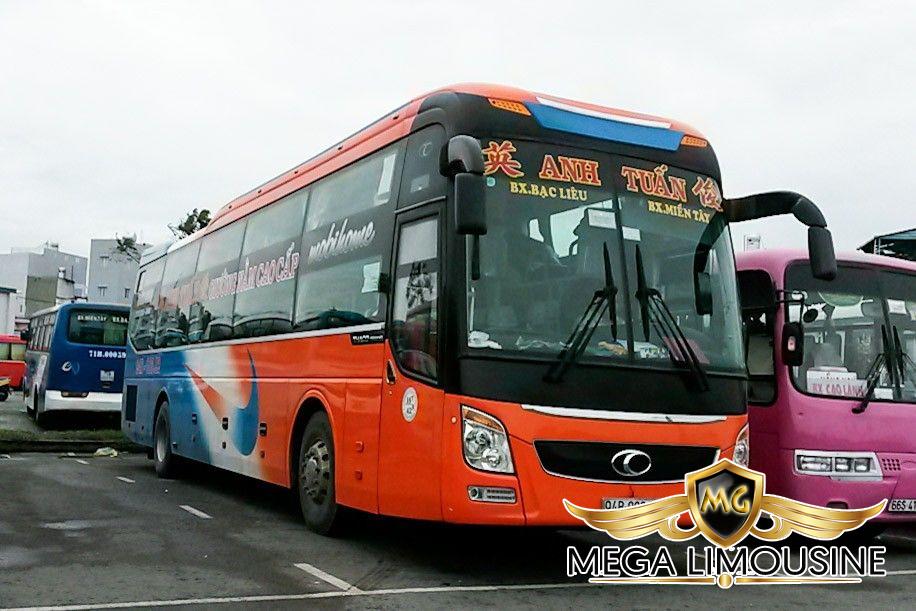 Xe Sài Gòn Cần Thơ - Hãng xe Anh Tuấn