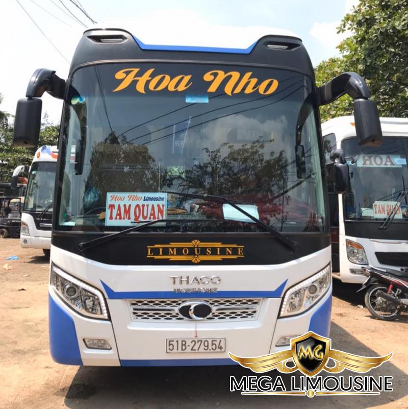 Hãng xe Hoa Nho-Xe Sài Gòn đi Quy Nhơn