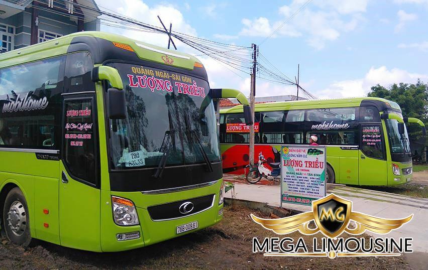 Hãng xe Lượng Triều - Xe Sài Gòn đi Quy Nhơn