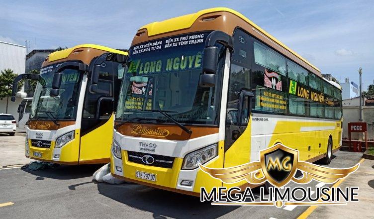 Hãng xe Long Nguyễn - Xe Sài Gòn đi Quy Nhơn