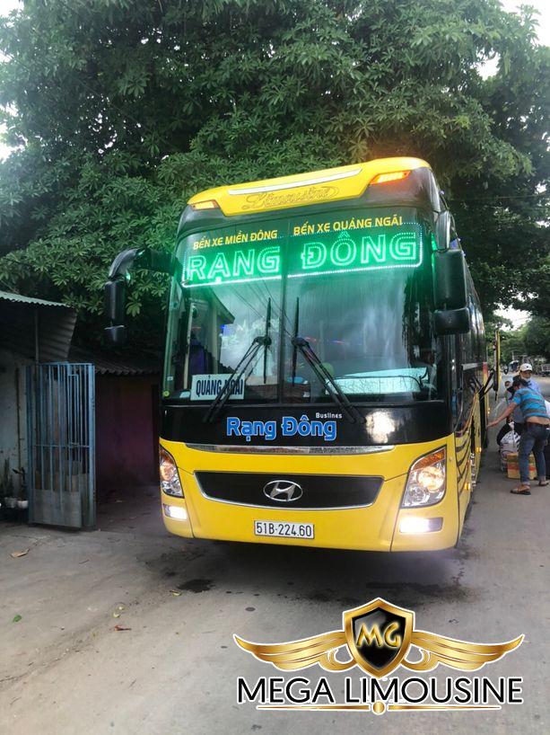 Hãng xe Rạng Đông Busline - Xe Sài Gòn đi Quy Nhơn