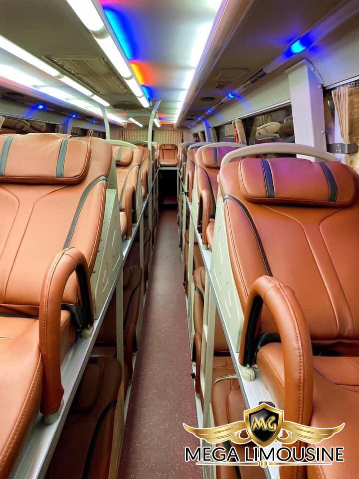 Xe Sài Gòn đi Quảng Ngãi - Hãng xe Rạng Đông Busline