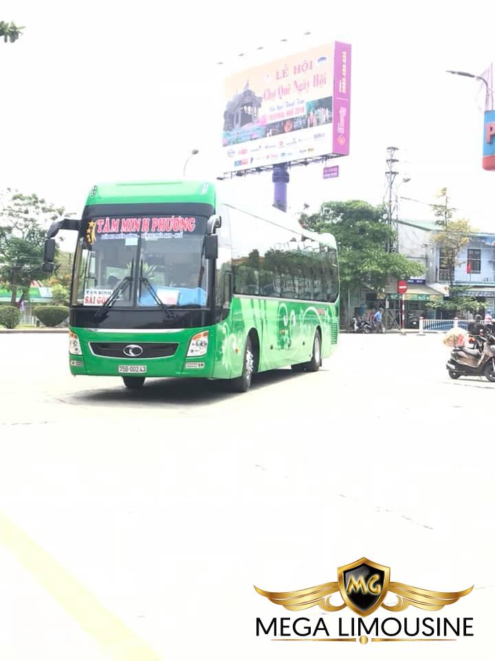 Xe Sài Gòn đi Quảng Ngãi - Hãng xe Tâm Minh Phương