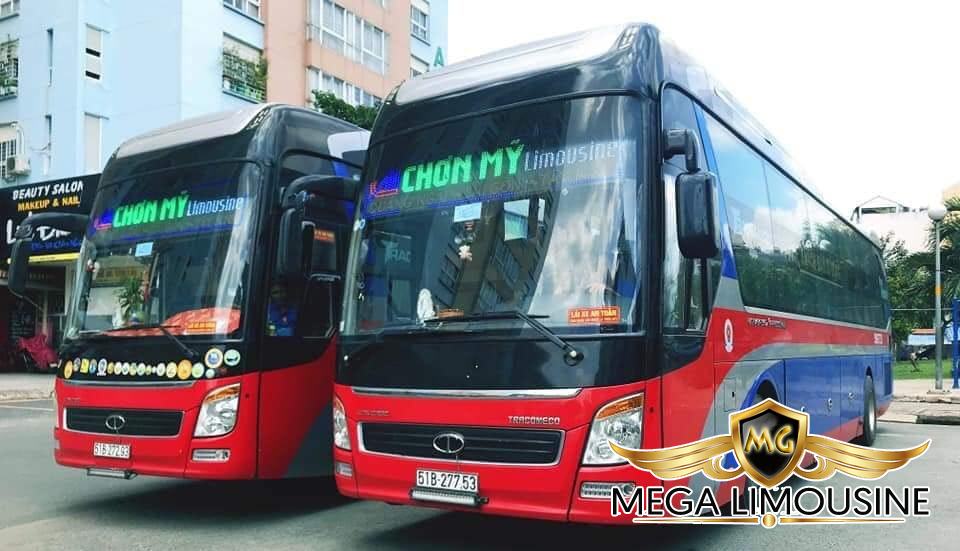 Xe Sài Gòn đi Quảng Ngãi - Hãng xe Chơn Mỹ Limousine