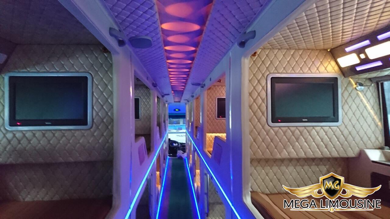 Xe Sài Gòn đi Đăk lăk - Xe limousine 22 phòng Tiến Oanh