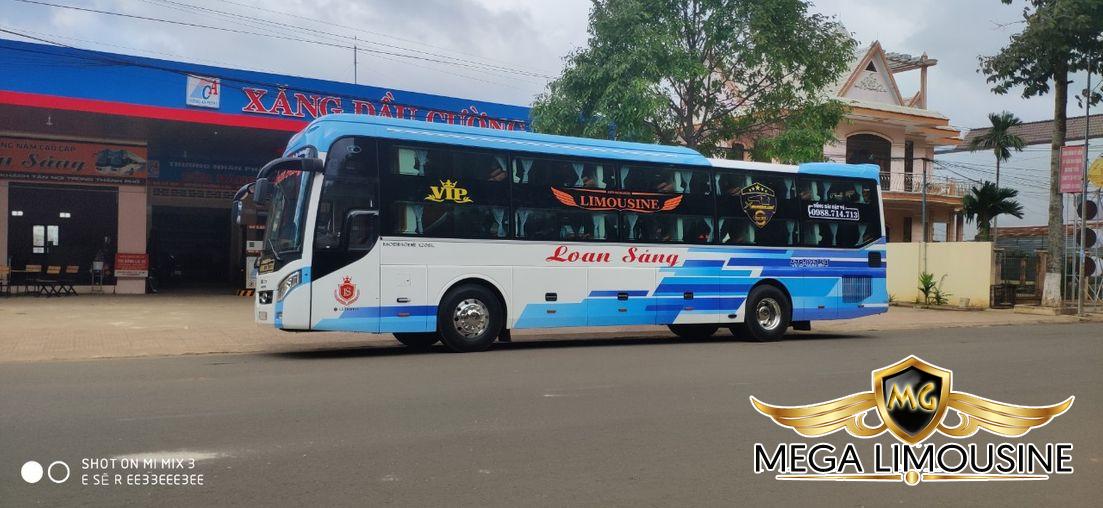 Xe Sài Gòn đi Đăk Lăk - Xe Loan Sáng