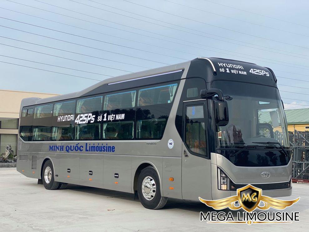 Xe Sài Gòn đi Kon Tum - Hãng xe Minh Quốc