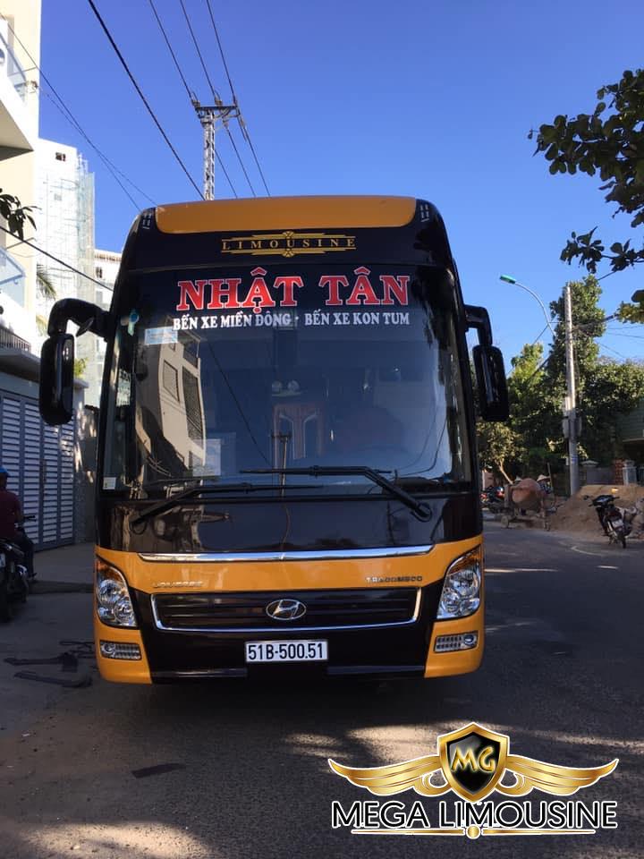 Xe Sài Gòn đi Kon Tum - Hãng xe Nhật Tân