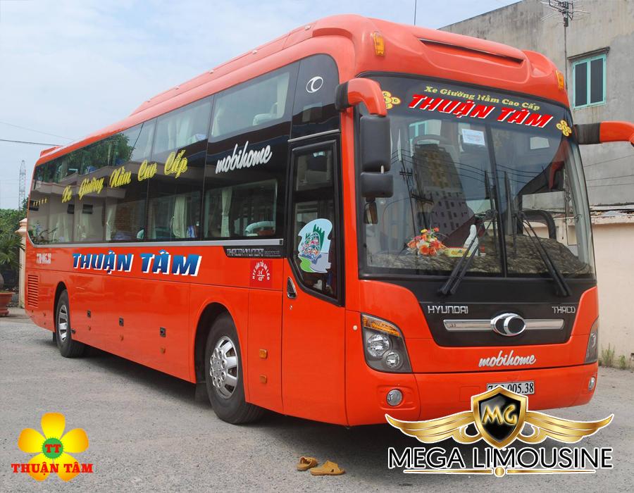 Xe Sài Gòn đi Quảng Ngãi - Hãng xe Thuận Tâm