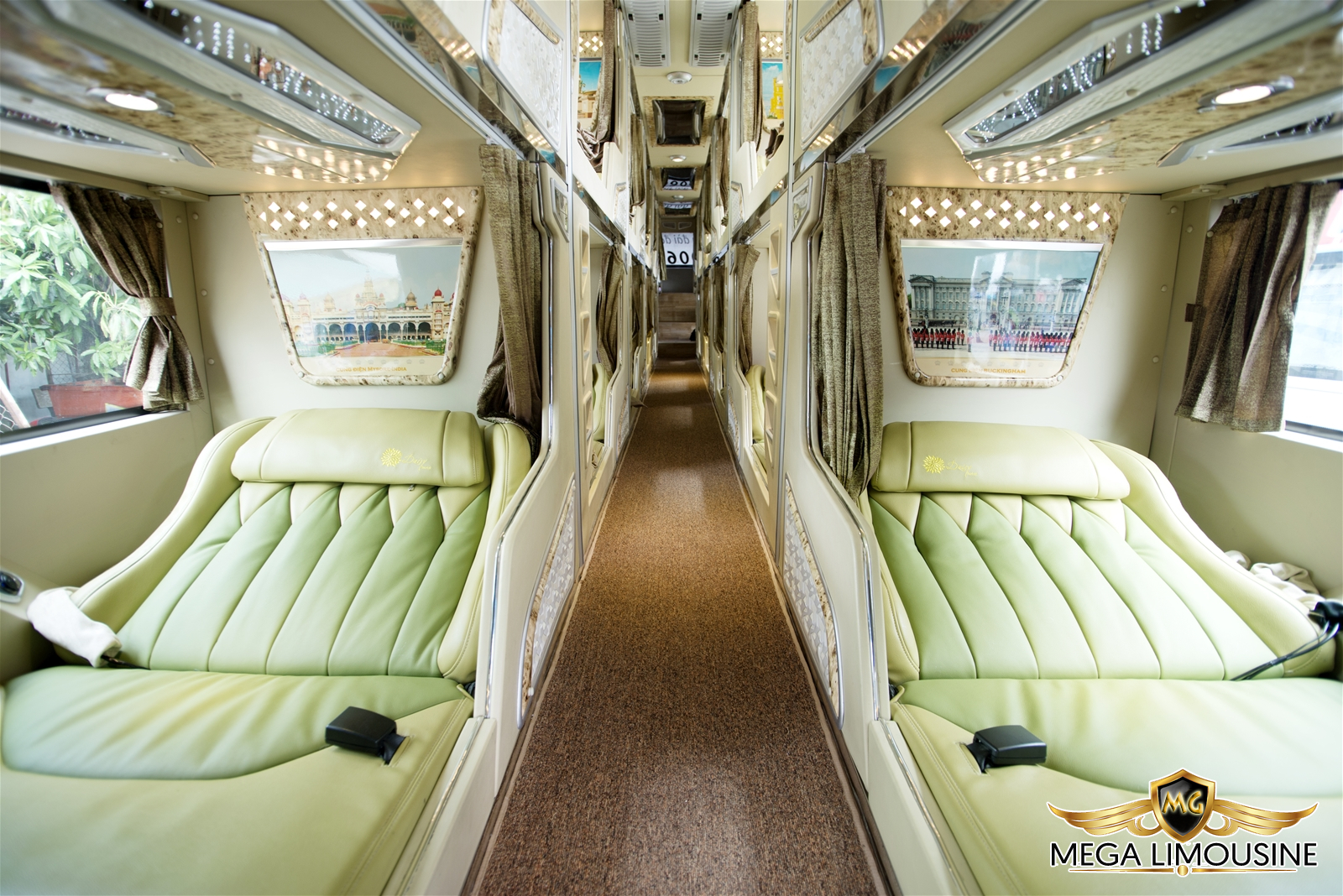 Hãng xe Cúc Tùng Limousine - Xe Đà Nẵng Quy Nhơn - Phòng nằm cao cấp cho một hành trình đầy êm ái