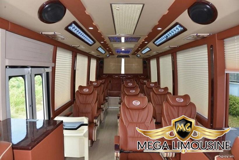 Xe Hà Nội Bắc Giang - Limousine Bảo Khang 16 chỗ - Ghế ngồi êm ái