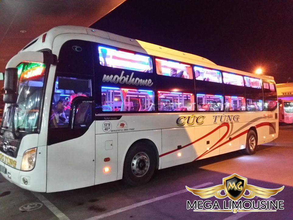 Hãng xe Cúc Tùng - Xe Đà Nẵng Đà Lạt uy tín
