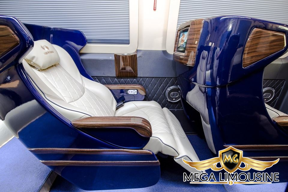 Xe Hà Nội Bắc Giang - Limousine VIP Quỳnh Thanh - Ghế ngồi thoải mái, êm ái