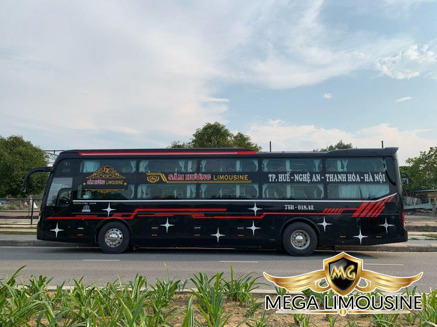 Hãng xe Sâm Hương- Xe Hà Nội Huế