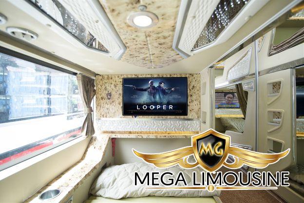 Xe Hà Nội Hà Tĩnh - Hãng xe Mận Vũ - Dòng xe limousine phòng nằm VIP